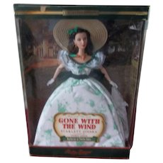 Beautiful Scarlet O'Hara Doll ( Gone With The Wind)