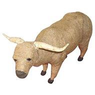 Folk Art Ox ( Made From Twine)