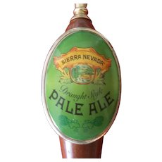 Sierra Nevada Draught Style PALE ALE Wooden Beer Tap Handle