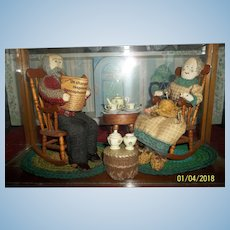 Rare French ( Old Diorama)