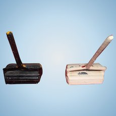 Vintage Metal Carpet Sweepers