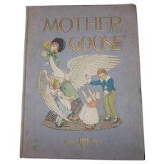 Mother Goose Nursery Rhymes 1915 Book