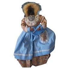 Old Vintage Apple Head Doll