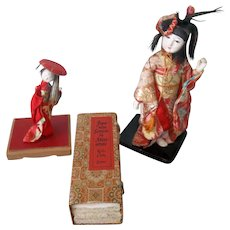 A Great Vintage Japanese Group with 6 Miniature Screens - Red Tag Sale Item