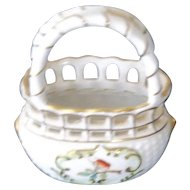 Beautiful Herend Basket for that Special Doll