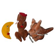 A Wonderful Group of Vintage Stuffed Things