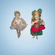 2 Sweet Vintage Bisque Dolls