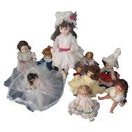 Madame Alexander and Ginny Vogue Dolls