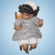 Wonderful Doll ( Artist Doll) Black Character Child