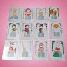 Kewpie Paper Doll Set