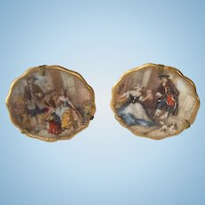Simply Stunning Miniature Limoges Plates