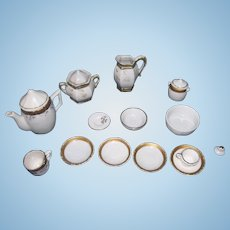 Old Iron Stone Tea Set Made in Germany