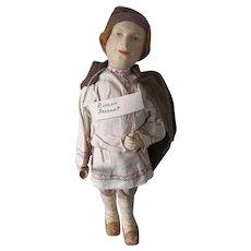 Wonderful Cloth Russian Village Boy with Tag