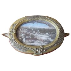 Fabulous French Trinket Box with Pretty Lining