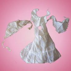 A Delicate Lace Bonnet, Dresses,Bibs Etc.