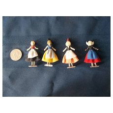 Amazing Rare Tiny Artist Made Dolls from the 50's
