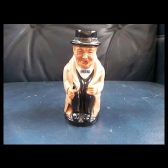 Royal Doulton Winston Churchill Vintage Toby Mug