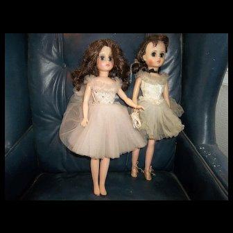 2 Madame Alexander Ballerina Dolls