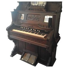 Antique Weaver Ornate Pump Organ