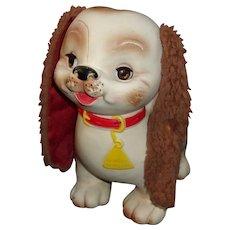 A Vintage Bowser Wowser Vinyl Dog Pet Toy