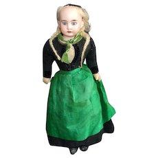 Sweet Old Bisque Shoulder Head Doll