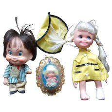 Vintage Fun with Luckey Locket and Friends
