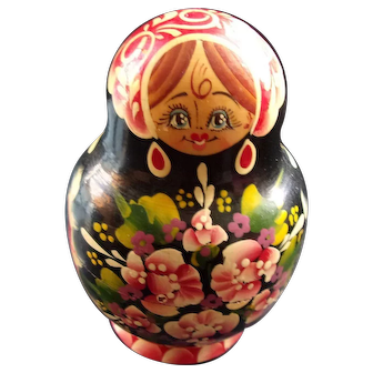 Signed Russian Nesting Dolls