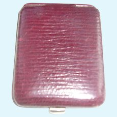 Perfect Leather Picture Case for Your French or German Doll