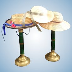 3 Sweet Straw Hats