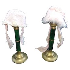 2 Vintage Bonnets