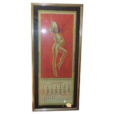 1940-41 Shirley Temple Poster Calendar