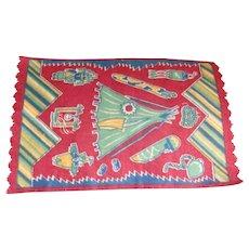 A Wonderful Dollhouse Rug with Indian Design