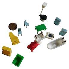 Tiny Vintage Plastic Furniture