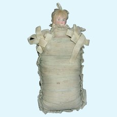 Rare Antique German Pillow Doll