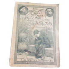 Antique 1890 Book for Dollie