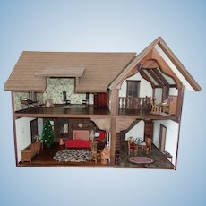 A Spectacular Dollhouse ( Made by Robert E. Bernhard )