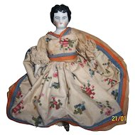 The Sweetest 7 Inch China With a Beautiful Dress