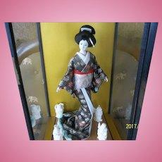 Beautiful Japanese Geisha Girl