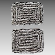 Vintage French Shoe Buckles, c 1910 – 1920s