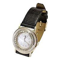 Longines 14kt Diamond Watch, Circa 1950