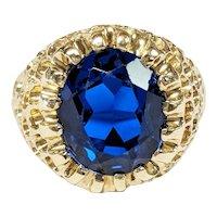 Baden & Foss 14kt Sapphire Ring