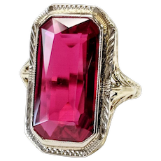 Victorian 18kt Ruby Ring