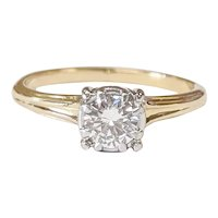 Jabel 14kt Two-Tone Diamond Ring