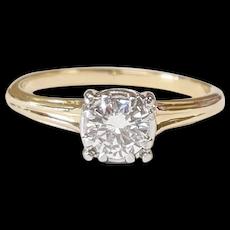 Jabel 14kt Two-Tone Diamond Ring