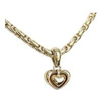 Chimento 18k Heart Necklace