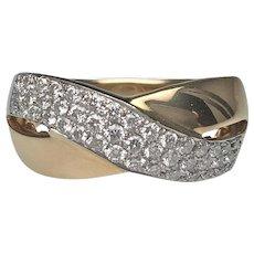 Diamond Ring | 14 Karat Yellow Gold