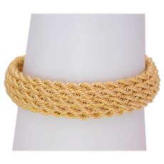 Italian Crafted 14k Gold Bracelet