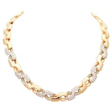 Diamond Infinity Link Necklace