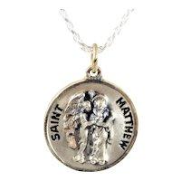 St. Mathew Sterling Silver Pendant