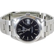 2005 Stainless Rolex Oyster Perpetual Date with Tags/Papers/Box